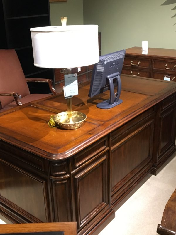 Southeastern Galleries Product Executive Double Pedestal Desk